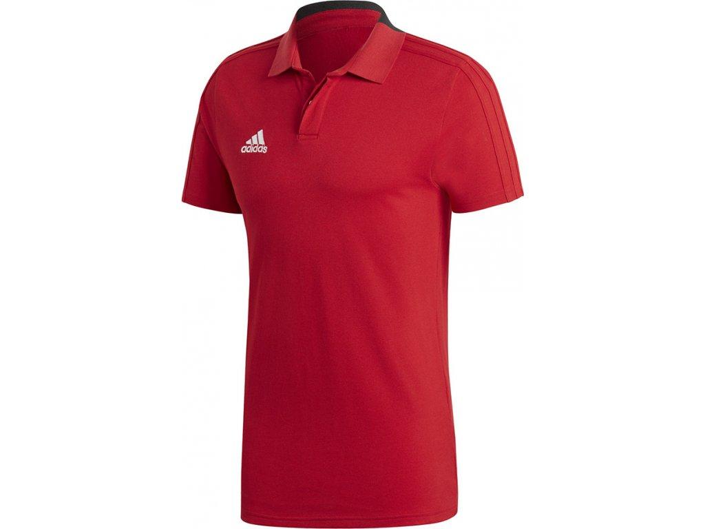 Polokošeľa adidas CONDIVO 18 červený CF4376