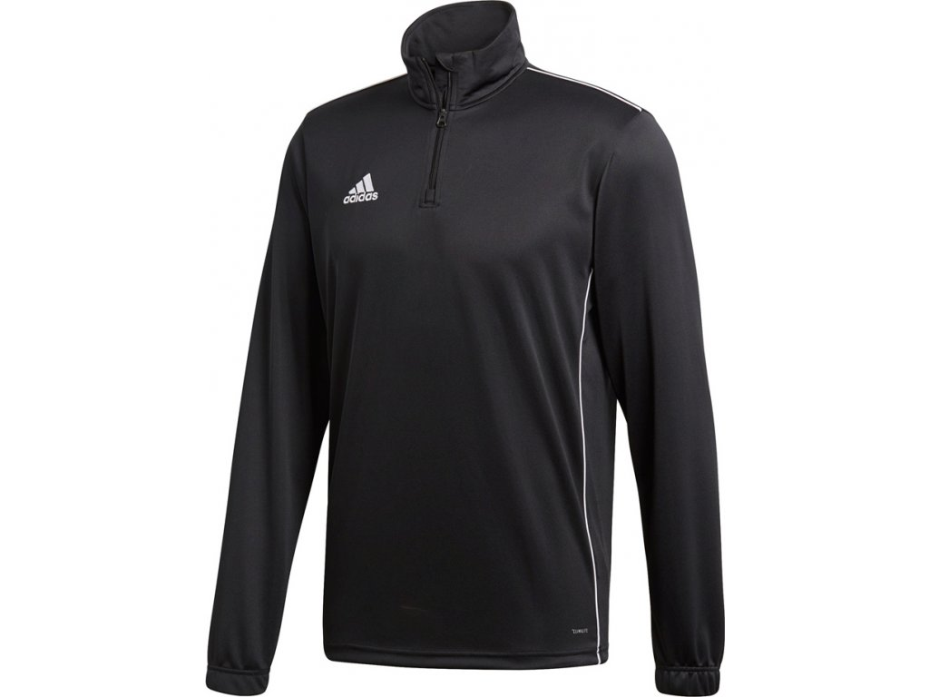 Mikina Adidas CORE 18 TRAINING TOP - čierna CE9026