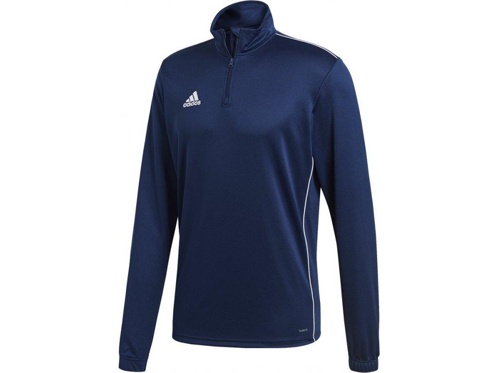Mikina Adidas CORE 18 TRAINING TOP - tmavo-modrá CV3997