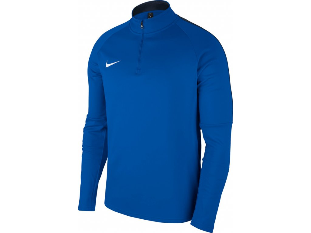 Mikina Nike Dry Academy 18 Drill Top LS - modrá 893624 463