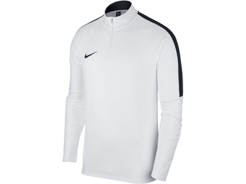 Mikina Nike  Dry Academy 18 Drill Top LS- biela 893624 100