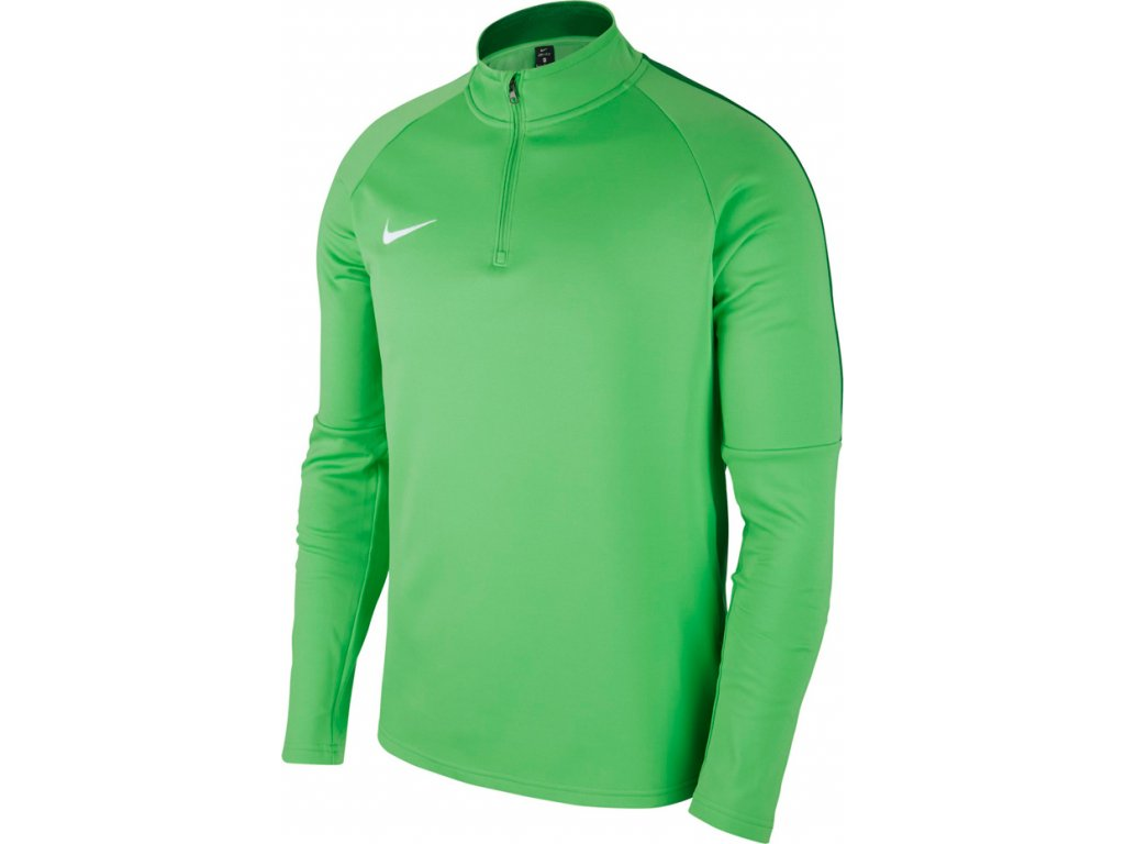 Mikina Nike Dry Academy 18 Drill Top LS - zelená 893624 361