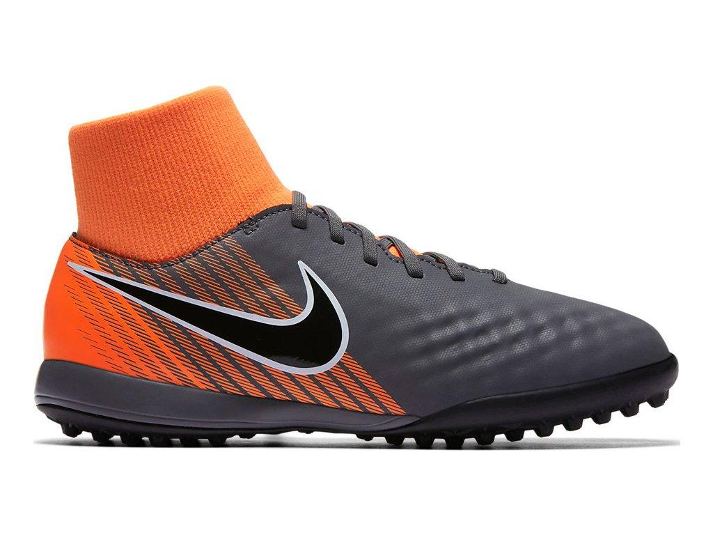 Detské futbalové turfy Nike Magista Obra 2 Academy DF TF JR AH7318 080