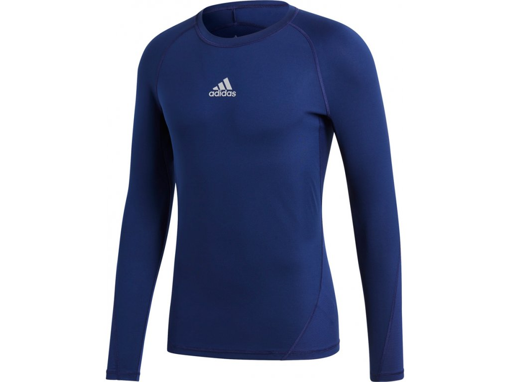 Tričko Adidas Alphaskin Sport LST M tmavo-modrá CW9489