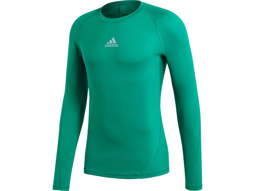 Tričko Adidas Alphaskin Sport LST M - zelená CW9504