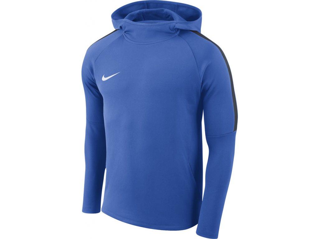 Mikina Nike M Dry Academy18 Hoodie PO - modrá AH9608 463