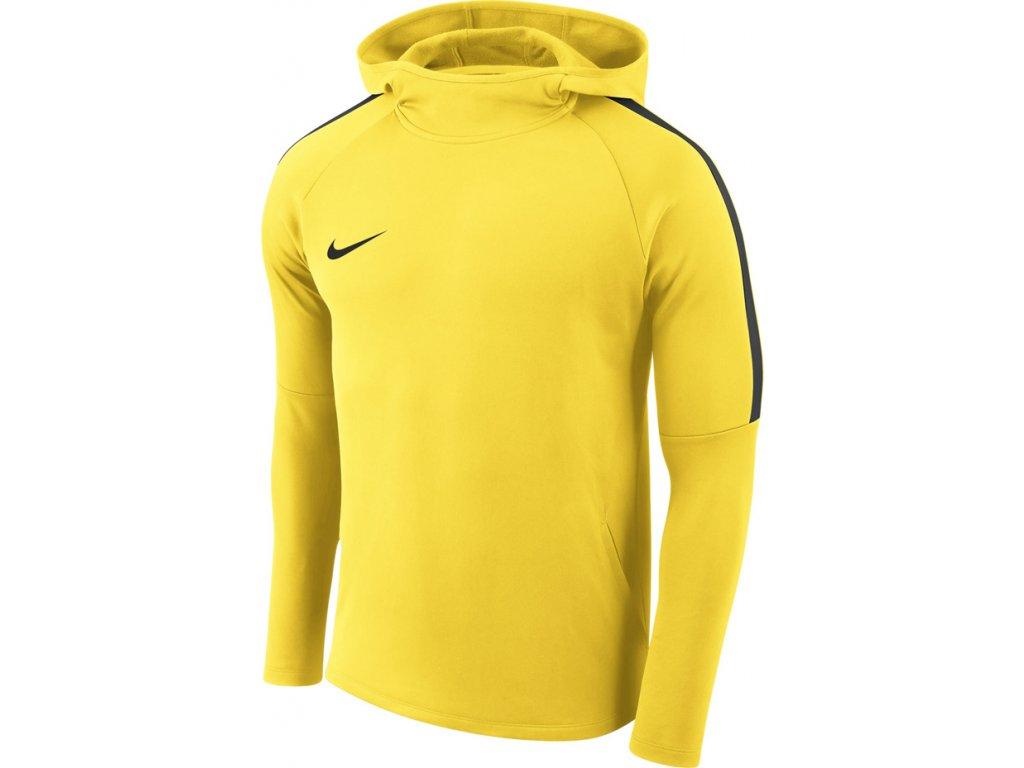 Mikina Nike M Dry Academy18 Hoodie PO - žltá AH9608 719