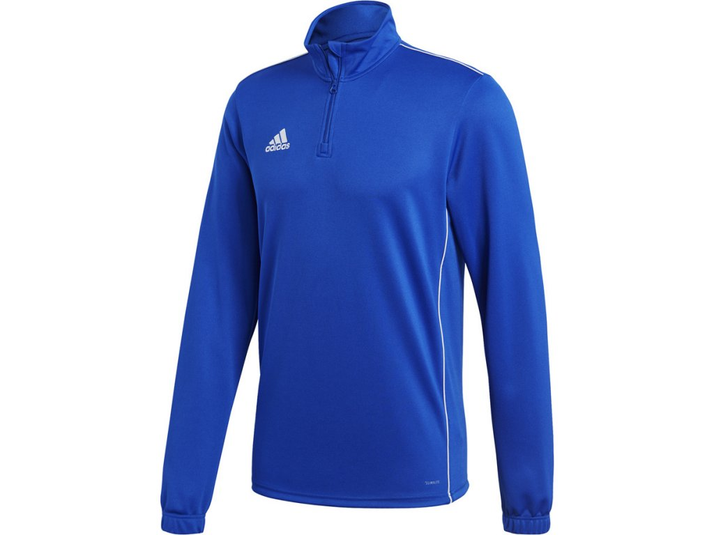Mikina Adidas CORE 18 TRAINING TOP - modrá CV3998
