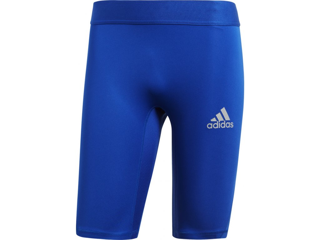 Termo šortky adidas Alphaskin Sport Sh Tight M modré CW9458