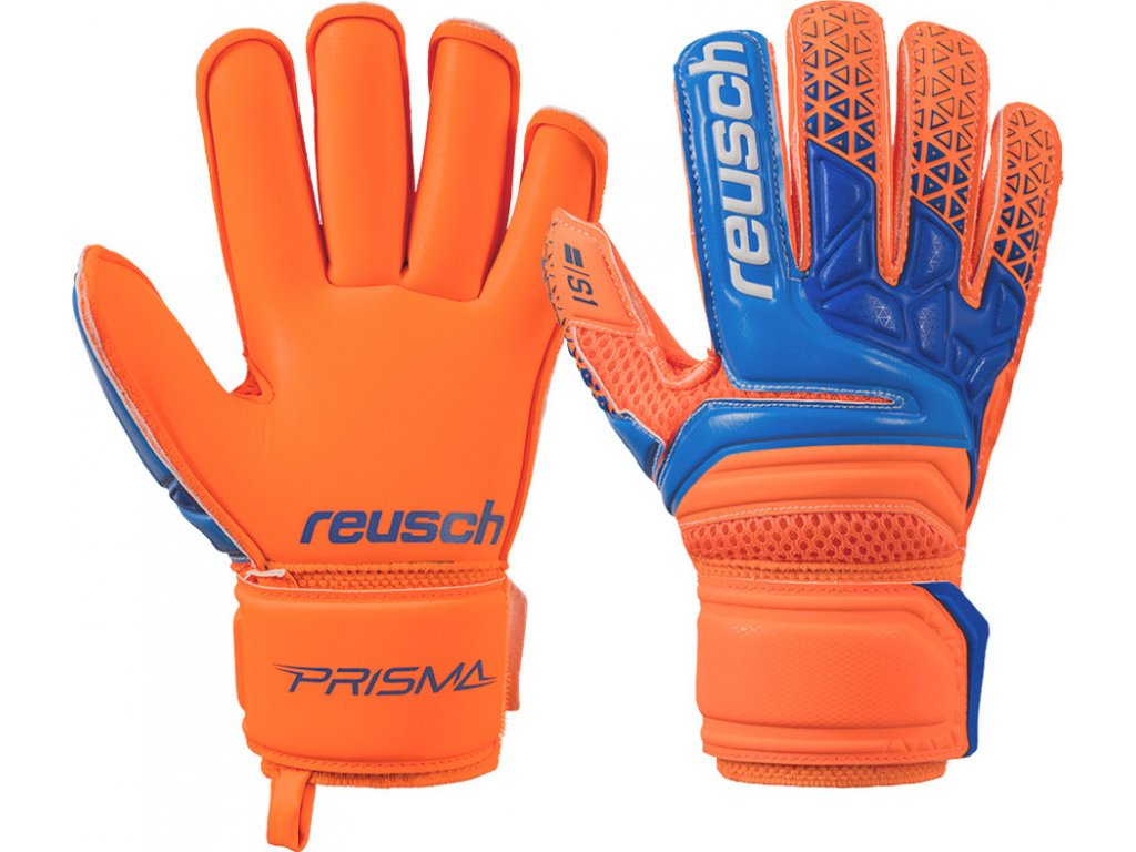 Detské brankárske rukavice Reusch Prisma S1 Roll Finger Junior 3872217 296