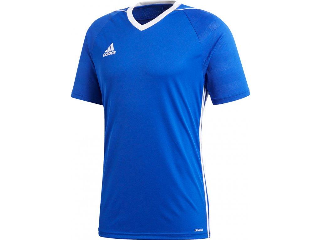 Futbalový dres adidas TIRO17 JSY modro-biely  BK5439