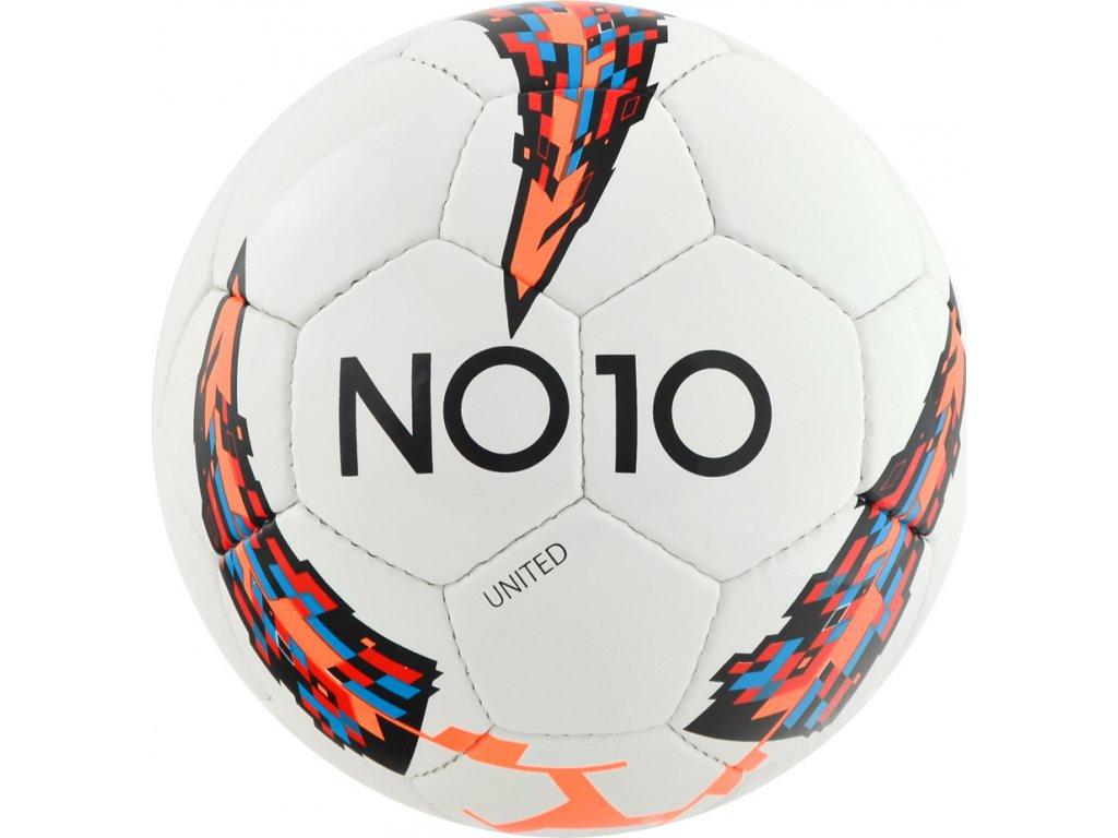 Futbalová lopta NO10 UNITED WHITE 56018-A