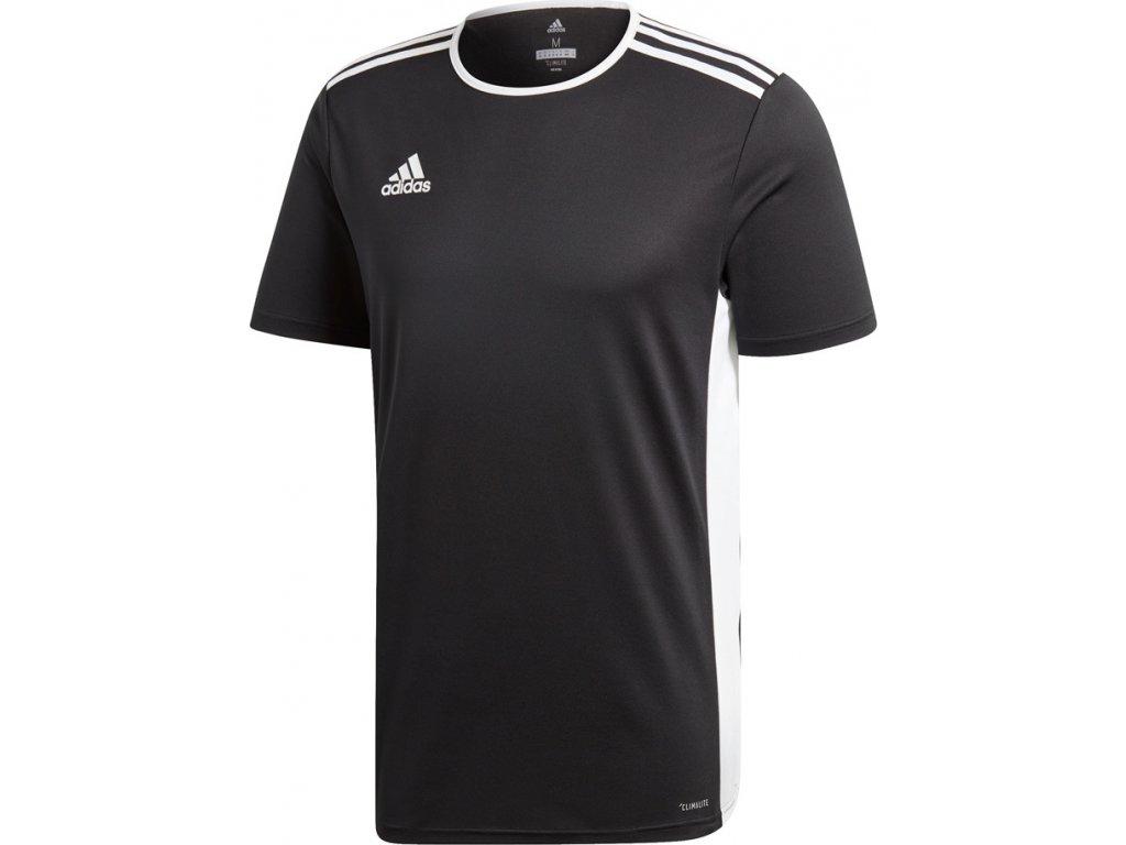 Futbalový dres adidas Entrada 18 čierny CF1035