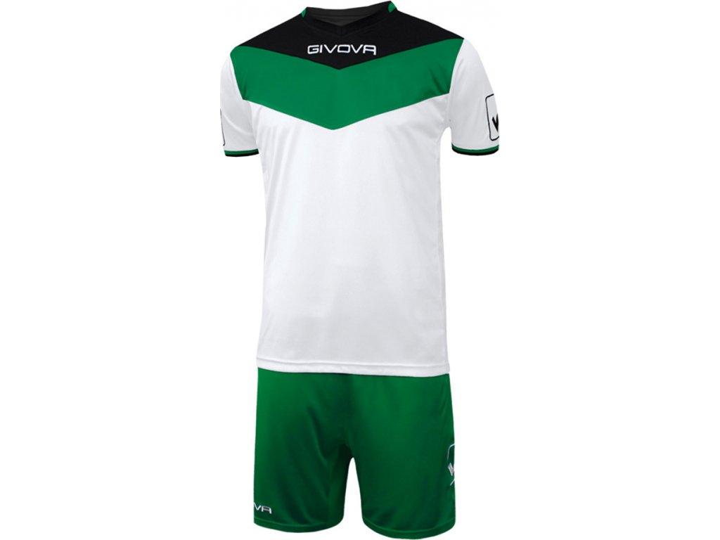 Komplet KIT CAMPO bielo-zelený