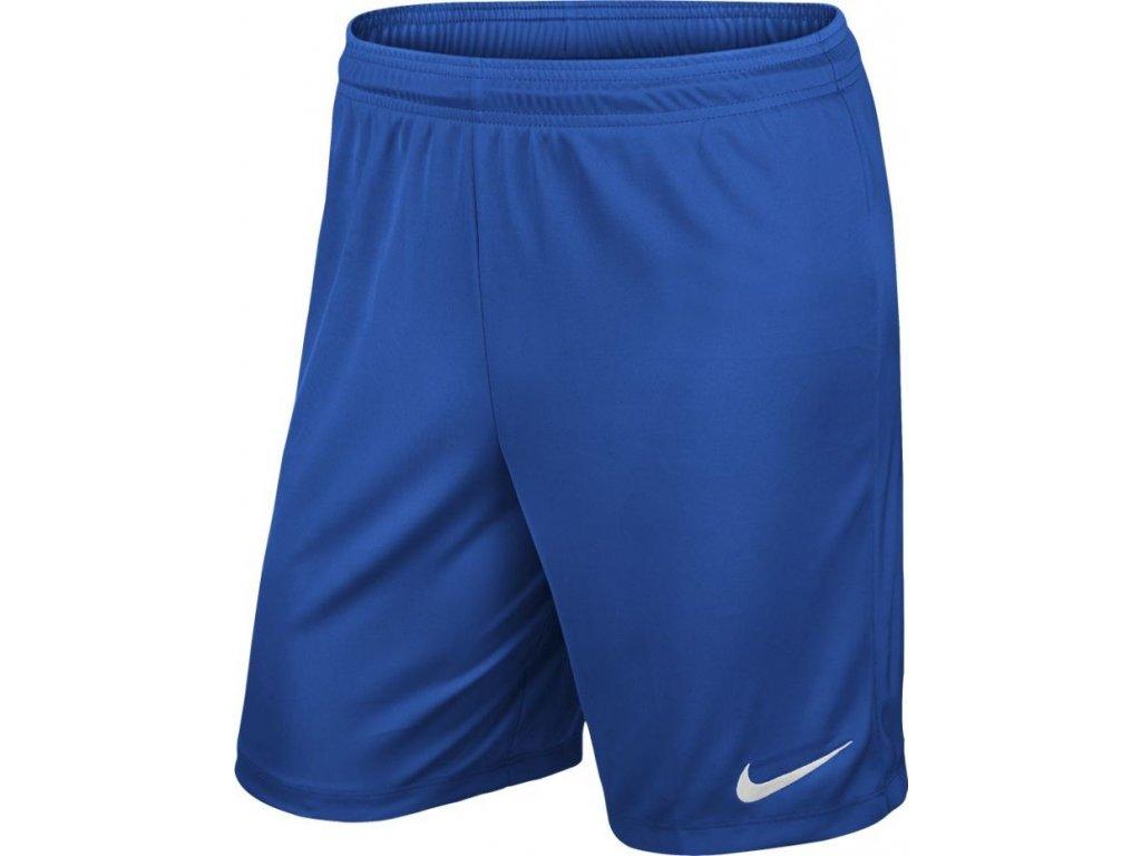 Šortky Nike Park II Knit Short NB modré 725887 463
