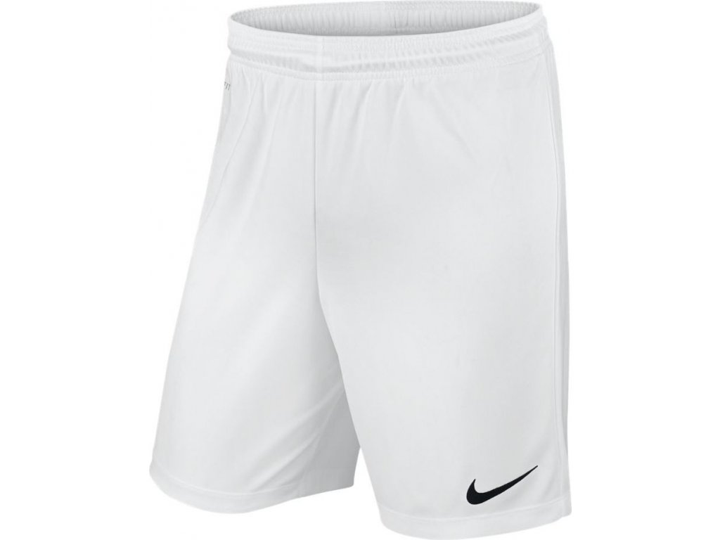Detské šortky Nike Park II Knit Short NB JUNIOR biele 725988 100