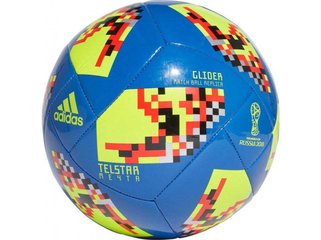 Futbalová lopta adidas Telstar 18 Mechta WC KO Glider CW4687