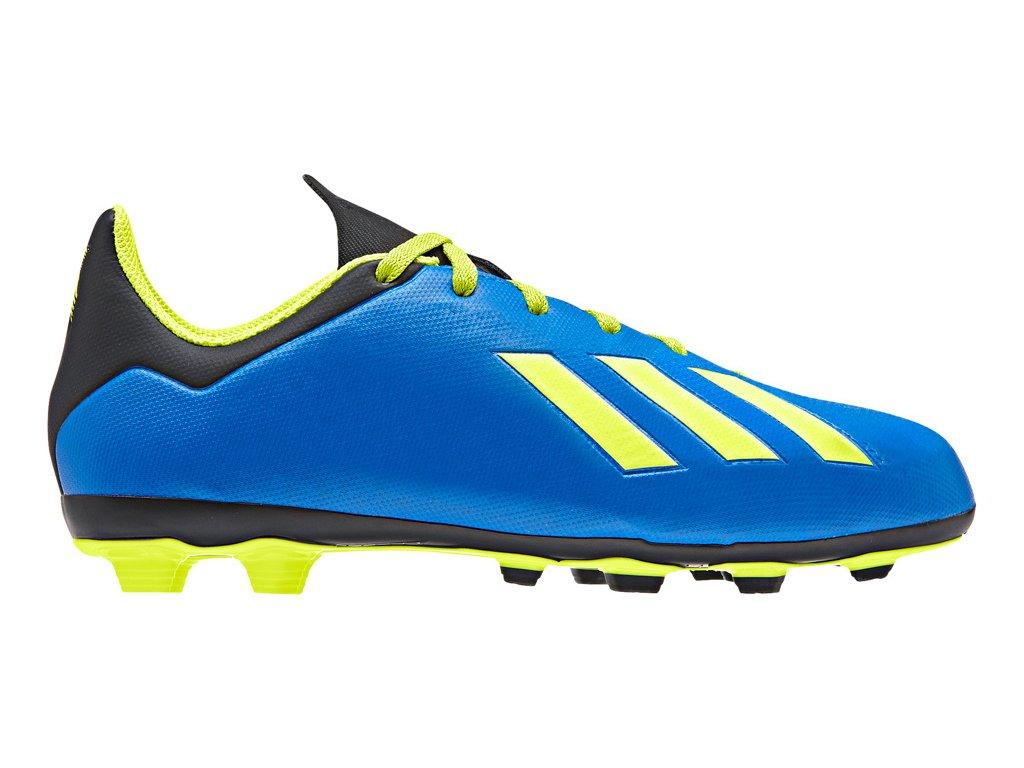 Detské futbalové kopačky adidas X 18.4 FxG JR DB2419