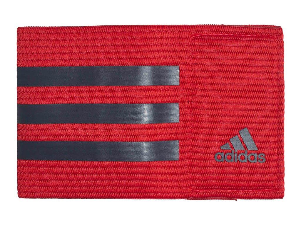 Kapitánska páska adidas FB roz OSFM červená CF1053