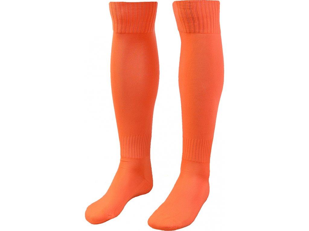 Futbalové štucne ISKIERKA SENIOR 42-44 oranžové