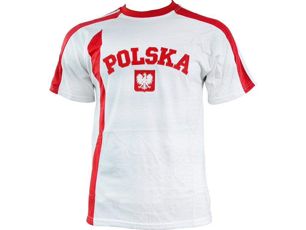 Dres REPLIKA POLSKA bielo-červený SR
