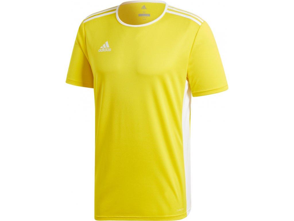Dres adidas Entrada 18 žltý CD8390