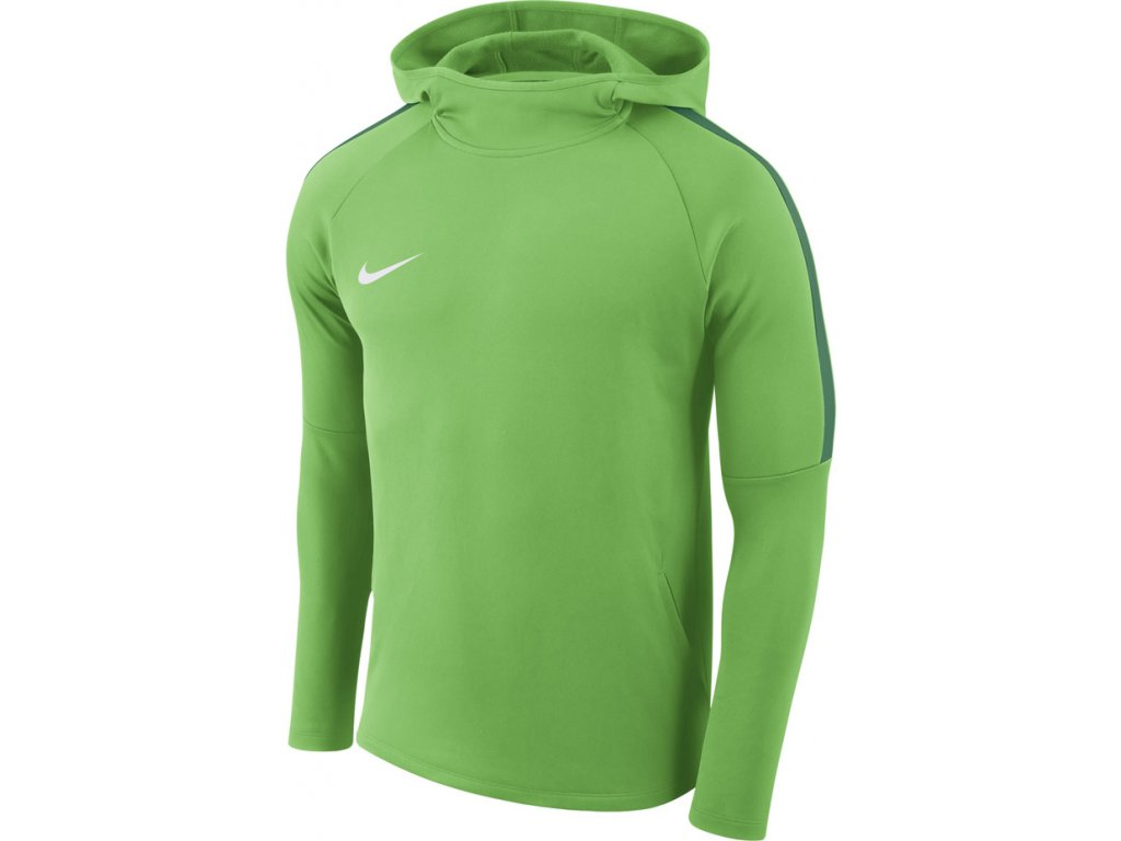 Mikina Nike M Dry Academy18 Hoodie PO zelená AH9608 361