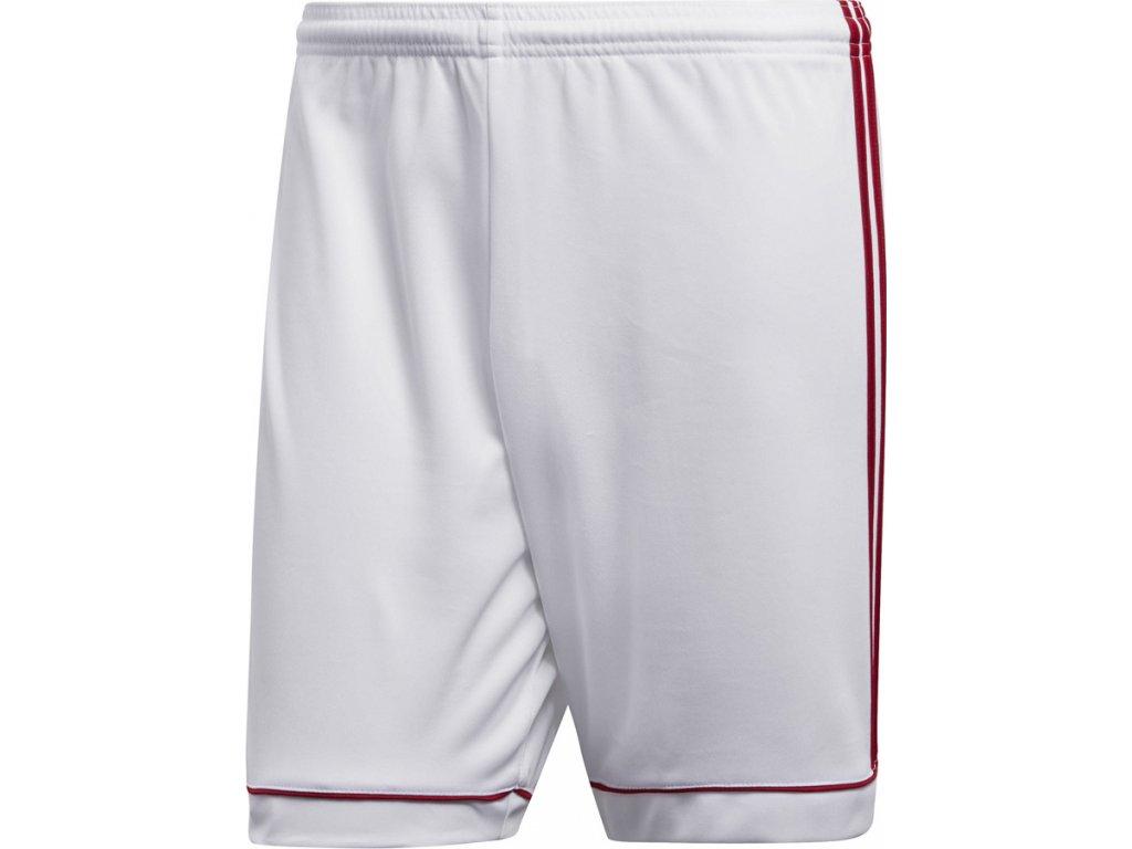 Šortky adidas Squadra 17 bielo-červené BK4762