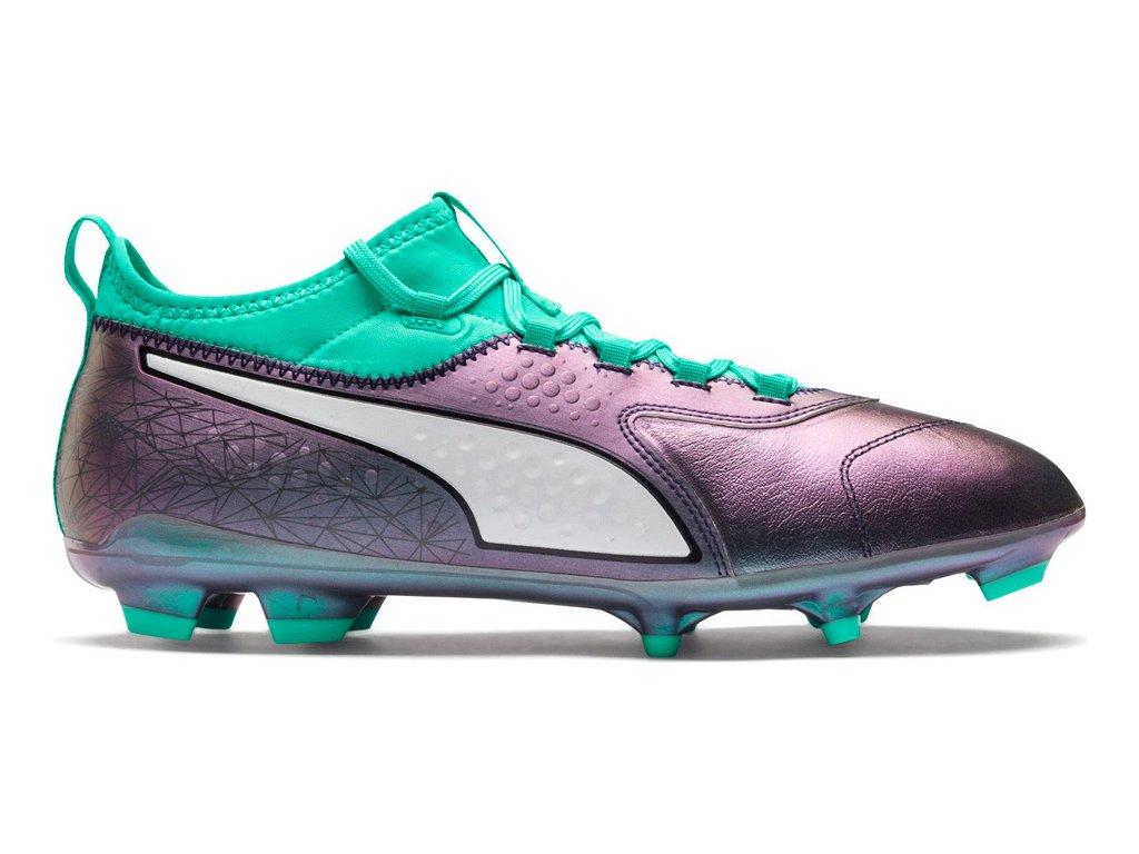 Futbalové kopačky Puma ONE 3 IL Lth FG Color Shift-Bi 104928 01