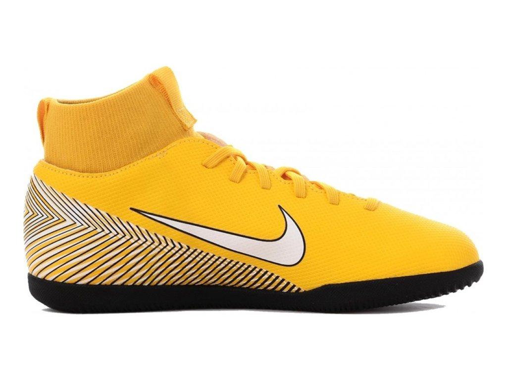 Detské futbalové halovky Nike Mercurial Superfly X 6 Club Neymar IC JR AO2891 710