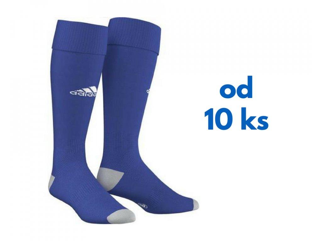 Sada štucní Adidas Milano, detské aj dospelácke veľkosti, kráľovsky modrá farba