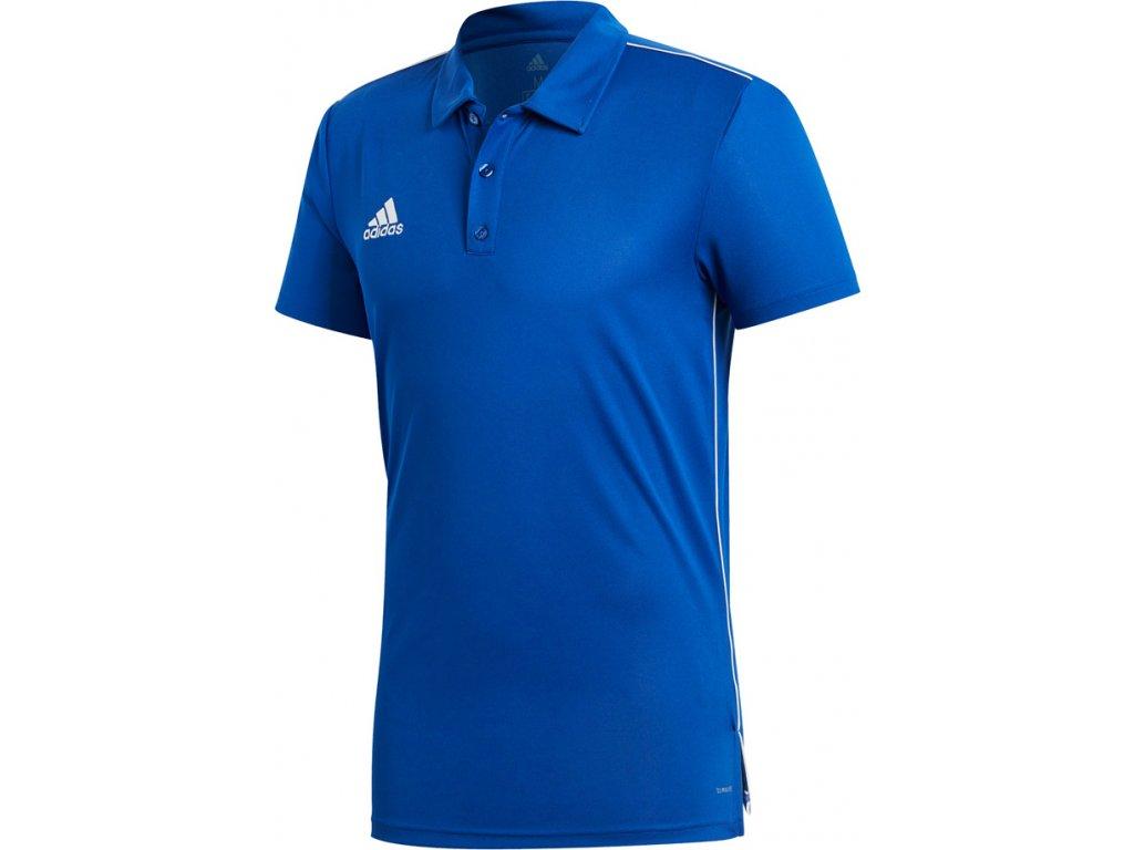 Polokošeľa adidas CORE 18 POLO modrá CV3590