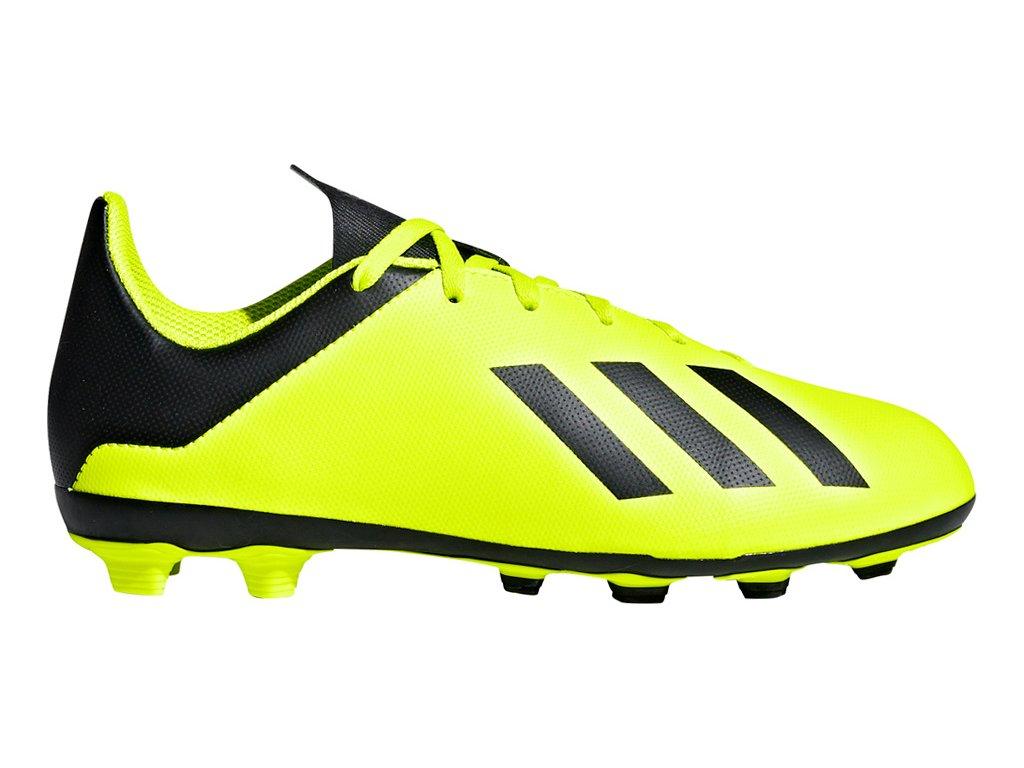 Detské futbalové kopačky adidas X 18.4 FxG JR DB2420