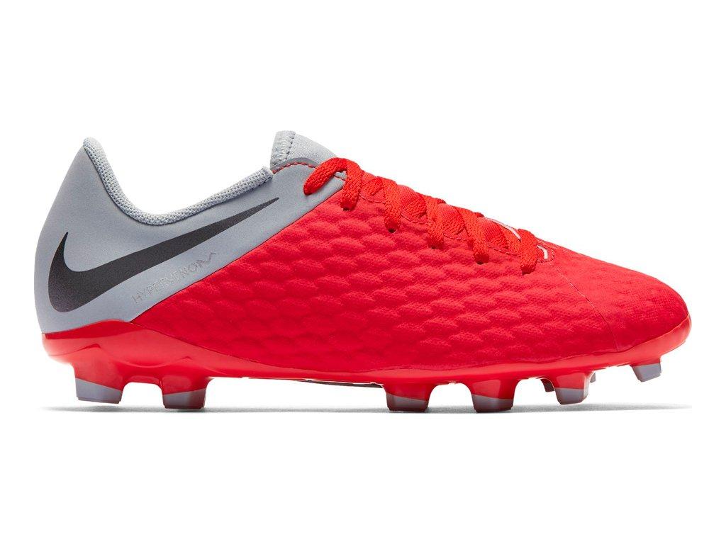 Detské futbalové kopačky Nike Hypervenom 3 Academy FG JR AJ4119 600