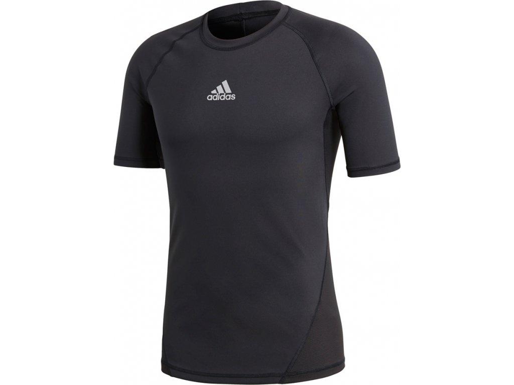 Dres adidas Alphaskin SPRT SST M čierny CW9524