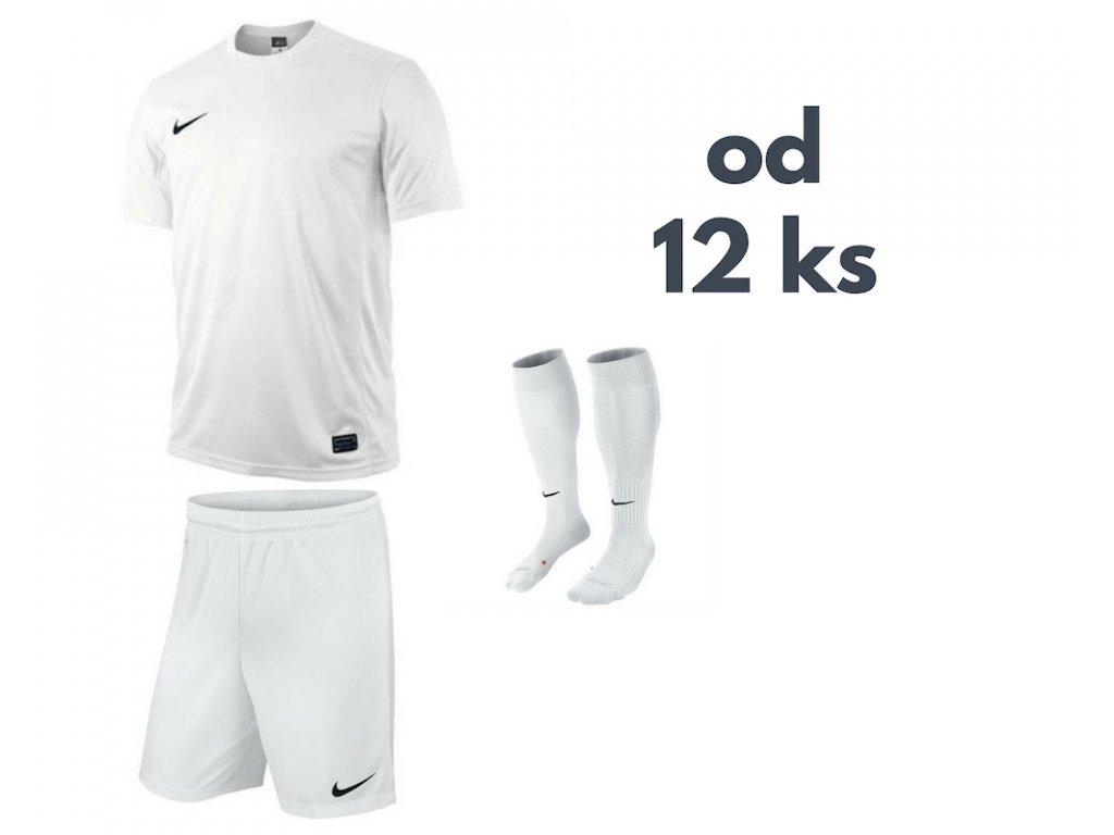 Futbalová sada Nike Park VI pre celé mužstvo, od 12 ks, biela
