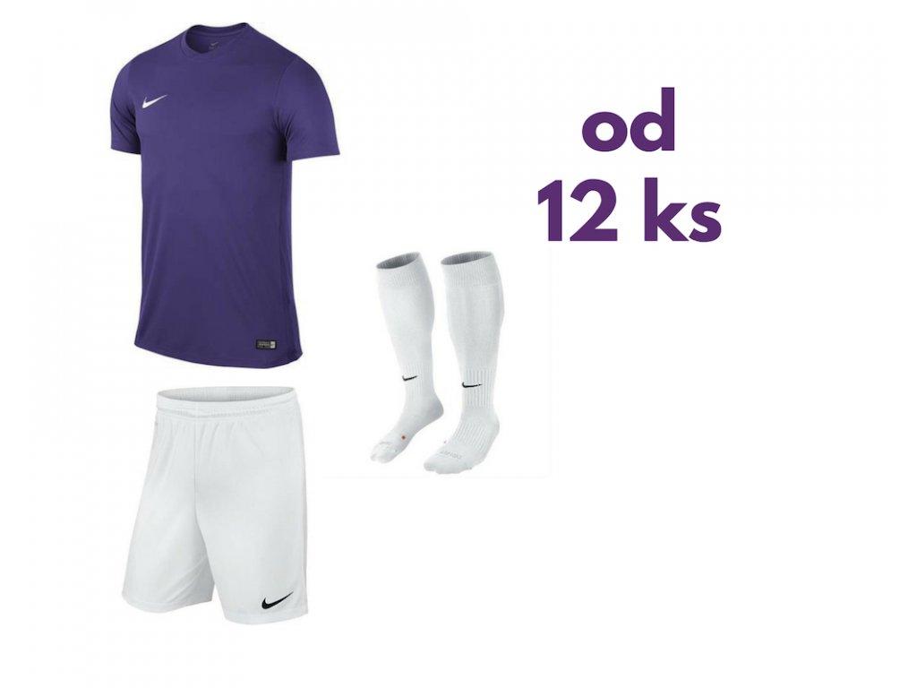 Futbalová sada Nike Park VI pre celé mužstvo, od 12 ks, fialová