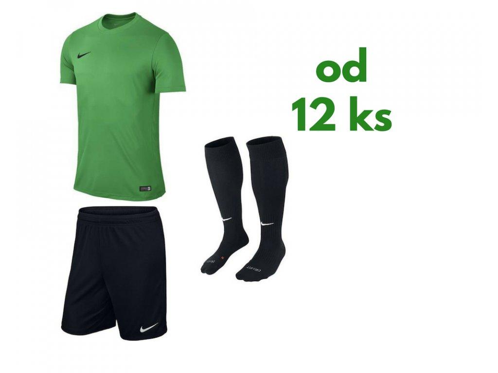 Futbalová sada Nike Park VI pre celé mužstvo, od 12 ks, svetlozelená