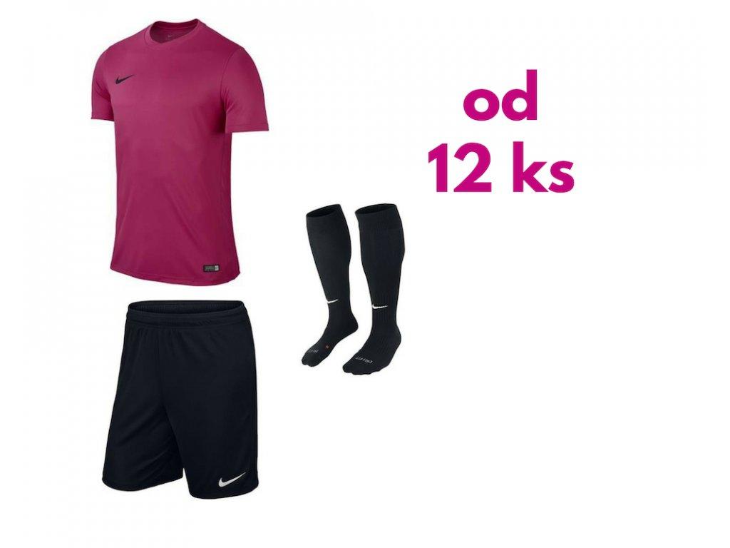 Futbalová sada Nike Park VI pre celé mužstvo, od 12 ks, ružová