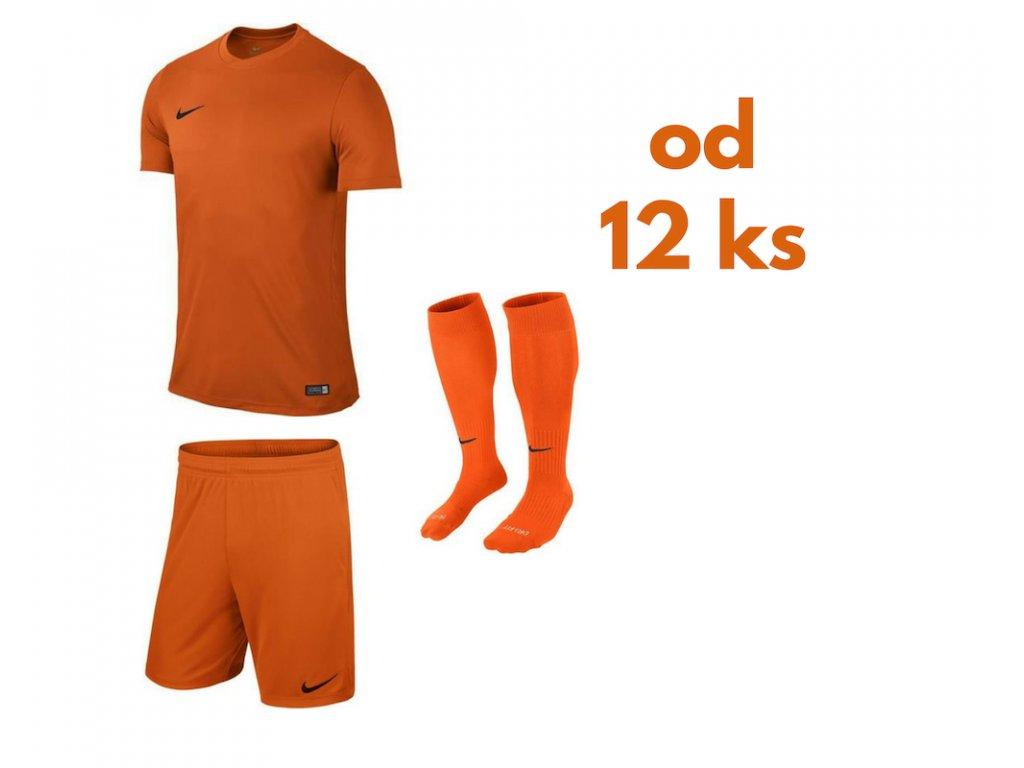 Futbalová sada Nike Park VI pre celé mužstvo, od 12 ks, oranžová