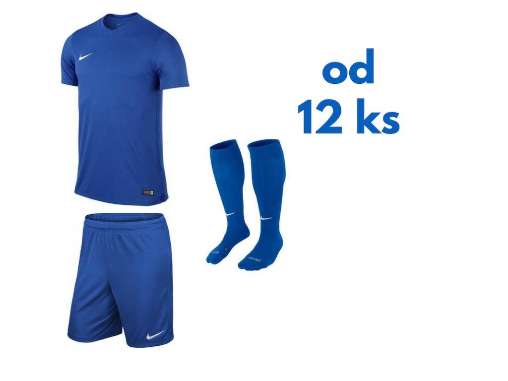 Futbalová sada Nike Park VI pre celé mužstvo, od 12 ks, kráľovská modrá
