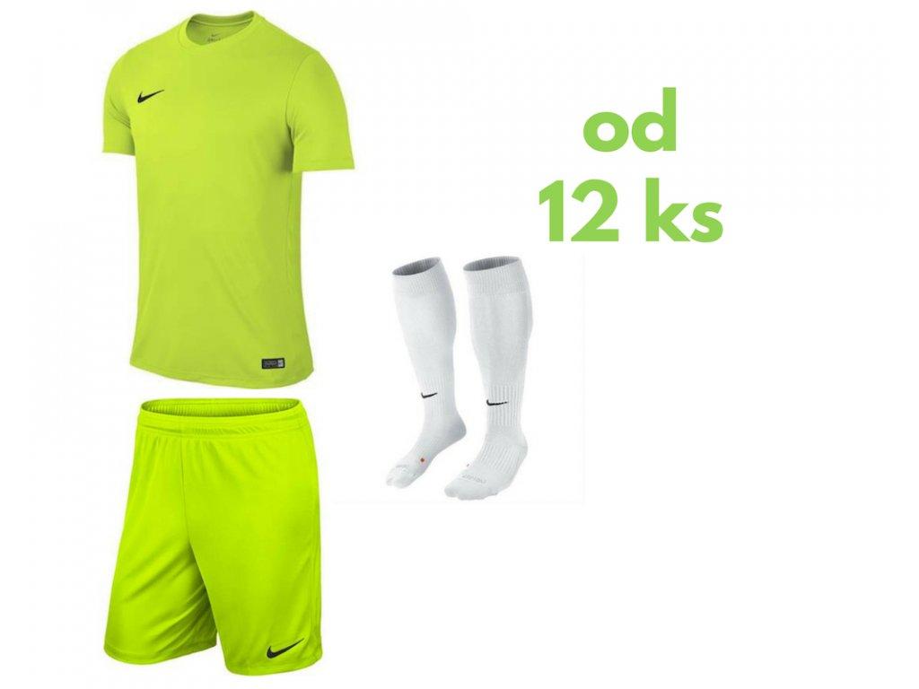 Futbalová sada Nike Park VI pre celé mužstvo, od 12 ks, jasná žltá