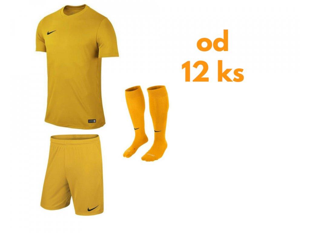 Futbalová sada Nike Park VI pre celé mužstvo, od 12 ks, žltá