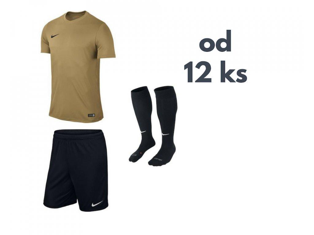 Futbalová sada Nike Park VI pre celé mužstvo, od 12 ks, zlatá