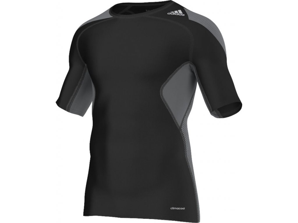 Dres adidas TECHFIT COOL SS čierny /S19441