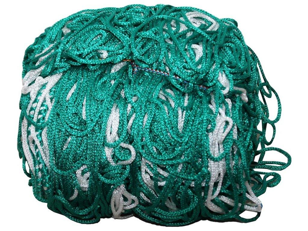 Sieť na futbalovú bránku NETEX 7,5x2,5m gł. 2m PP 3 farebna PN0038