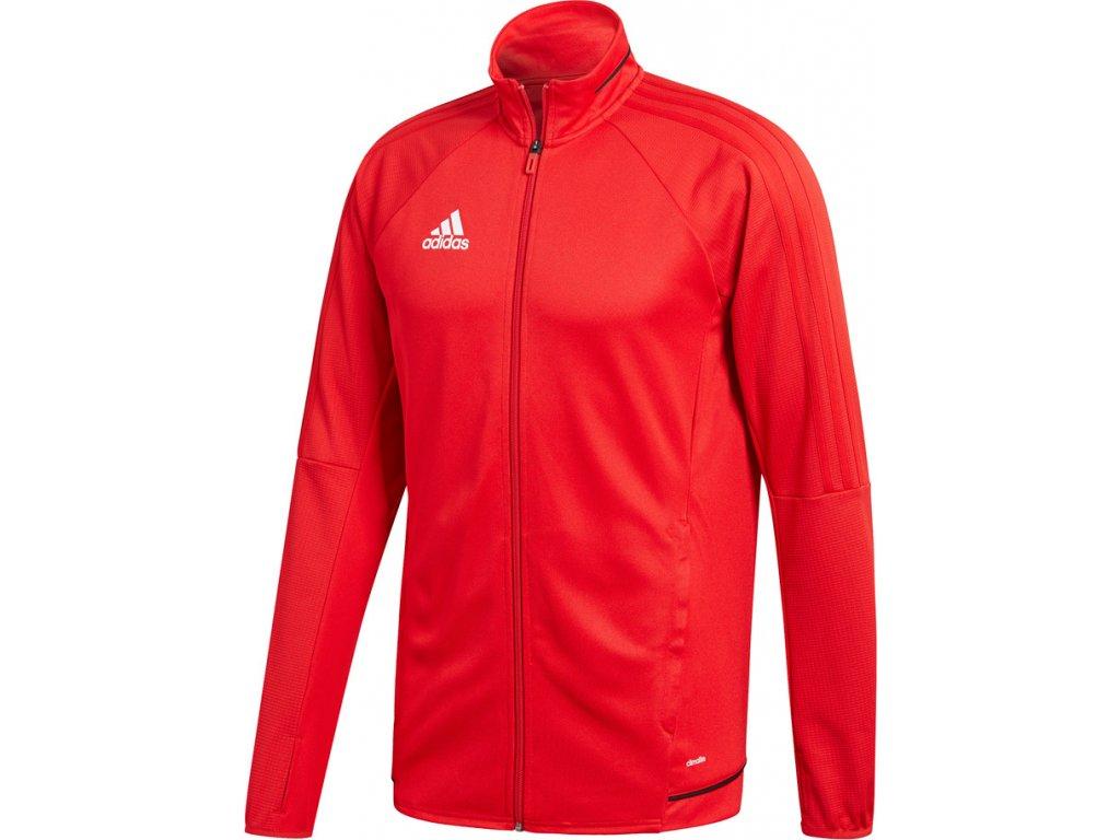 Mikina adidas TIRO 17 TRAINING JKT červená BQ2710