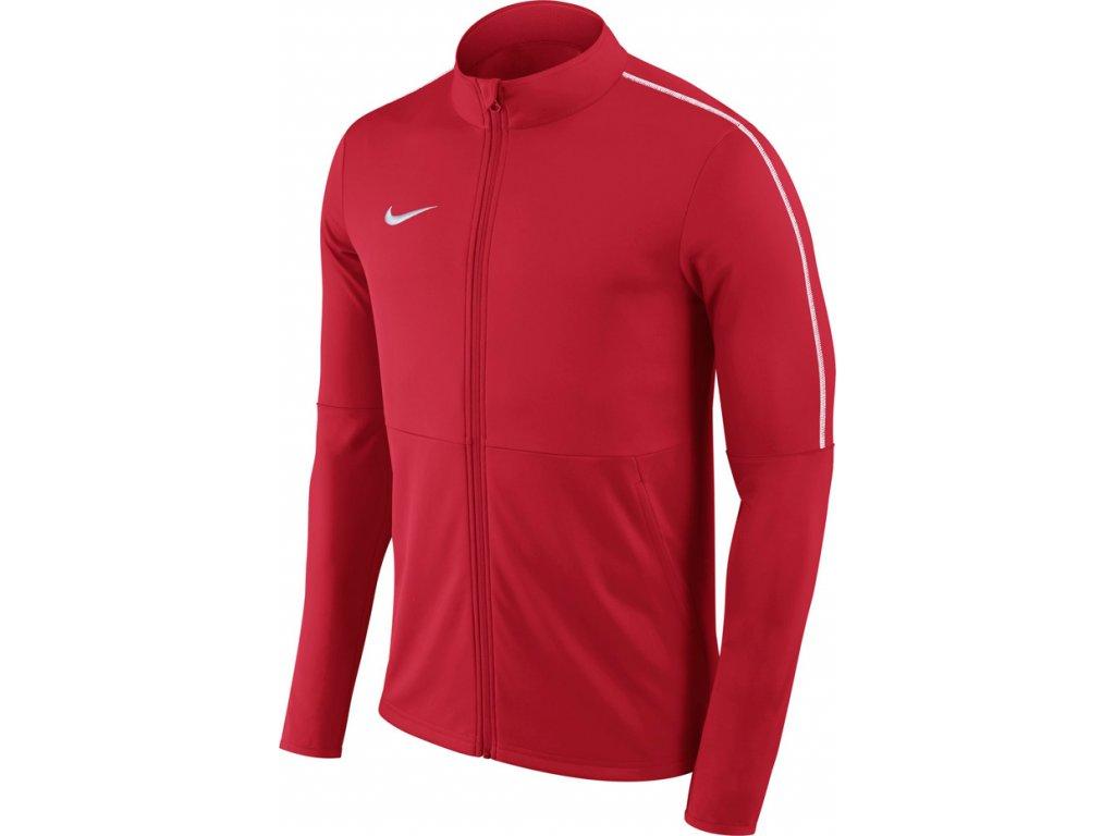 Detská mikina Nike Dry Park 18 TRK JKT K JUNIOR červená AA2071 657