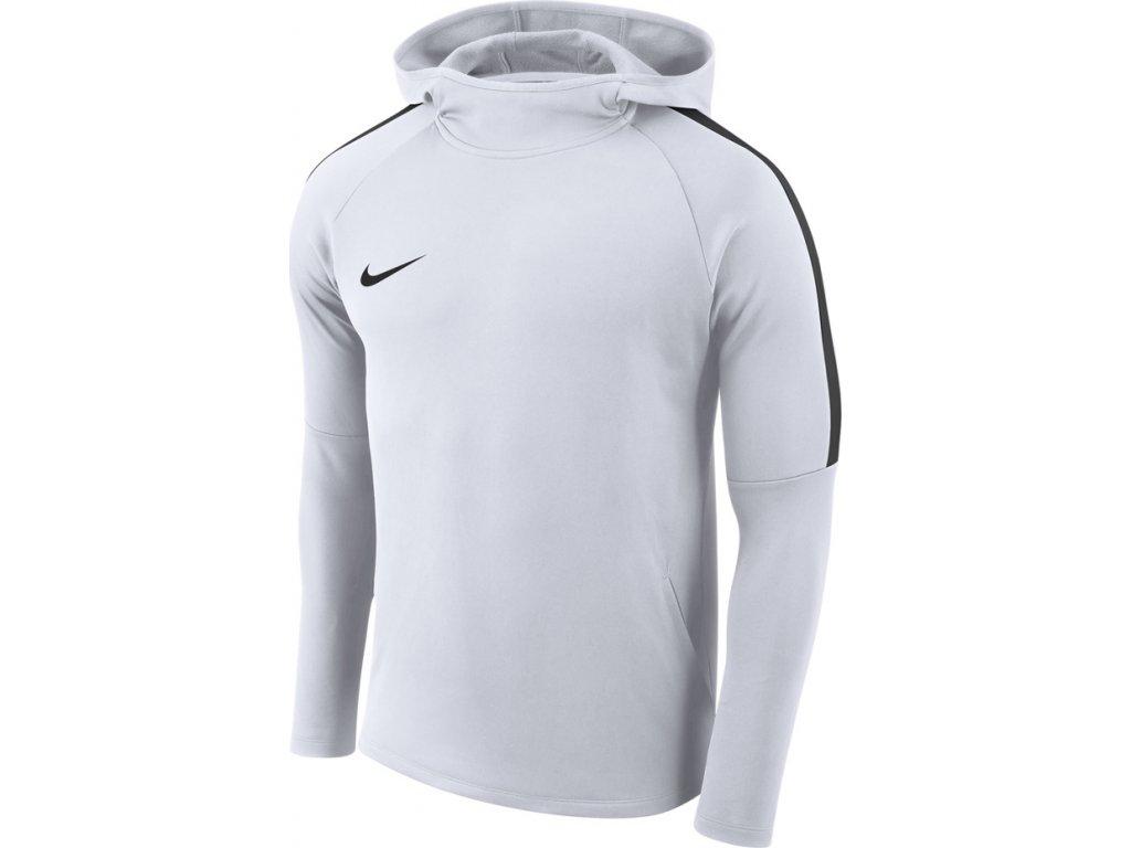 Mikina Nike M Dry Academy 18 Hoodie PO biela AH9608 100