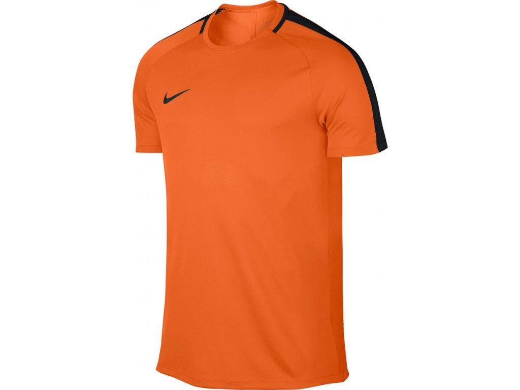 Dres Nike M NK Dry SS Academy oranžový 832967 806